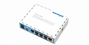 Маршрутизатор MikroTik RB951Ui-2nD hAP with 650MHz CPU, 64MB RAM, 5xLAN, built-in 2.4Ghz